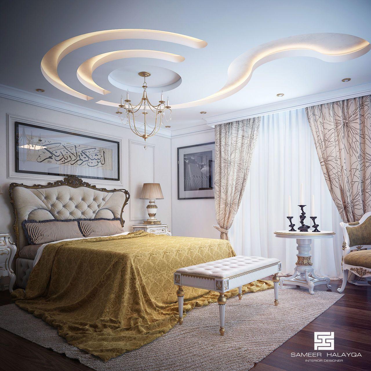 Contemporary Mediterranean Luxury Interior Designs: Contemporary Mediterranean Master Bedroom