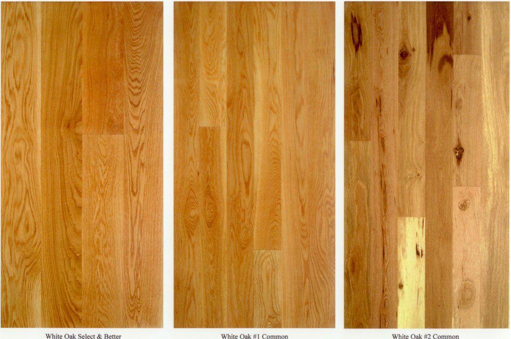 Select 1 Common 2 Common Hickory Flooring Solid Hardwood Floors Oak Floors