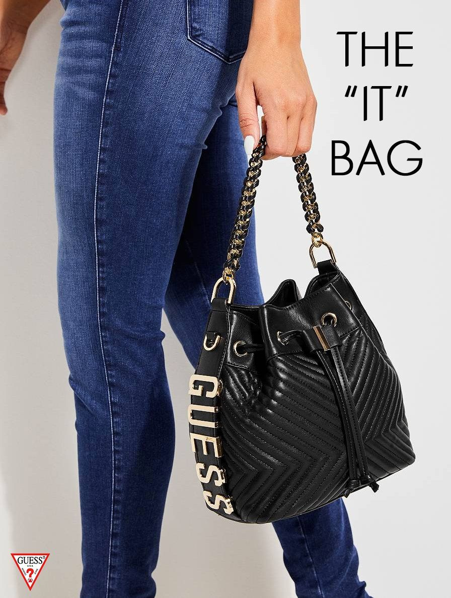 abfdc3c362 Stand out with this mini bucket bag