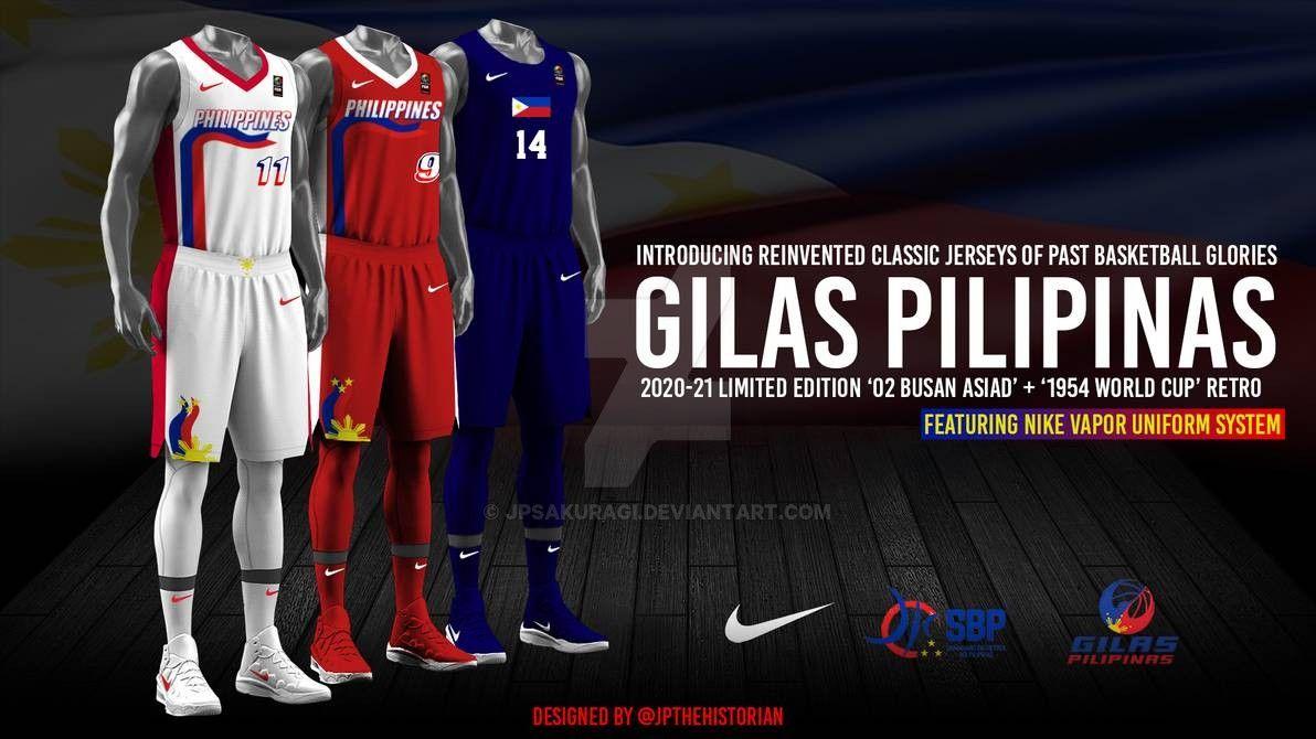 2020 21 Gilas Pilipinas Retro Nike Jerseys 2 By Jpsakuragi Nike Jersey Basketball Design Retro