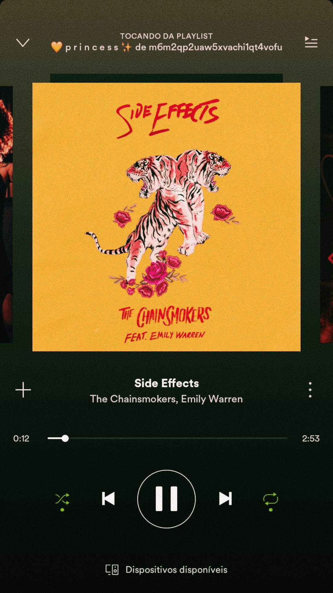 My Music Side Effects The Chainsmokers Emilly Warren