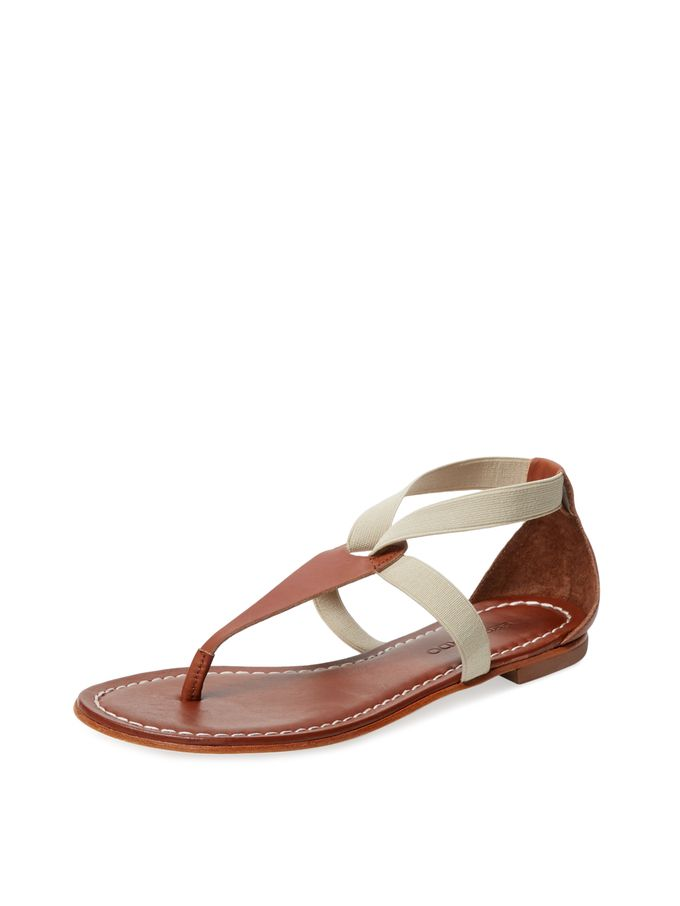 91551516404f Poppy Thong Sandal from Stylish Flat Sandals Feat. Jack Rogers on Gilt