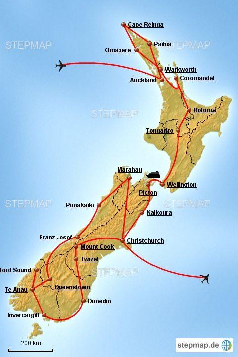 Roadtrip Neuseeland Von Der Nordinsel Zur Sudinsel Sudinsel