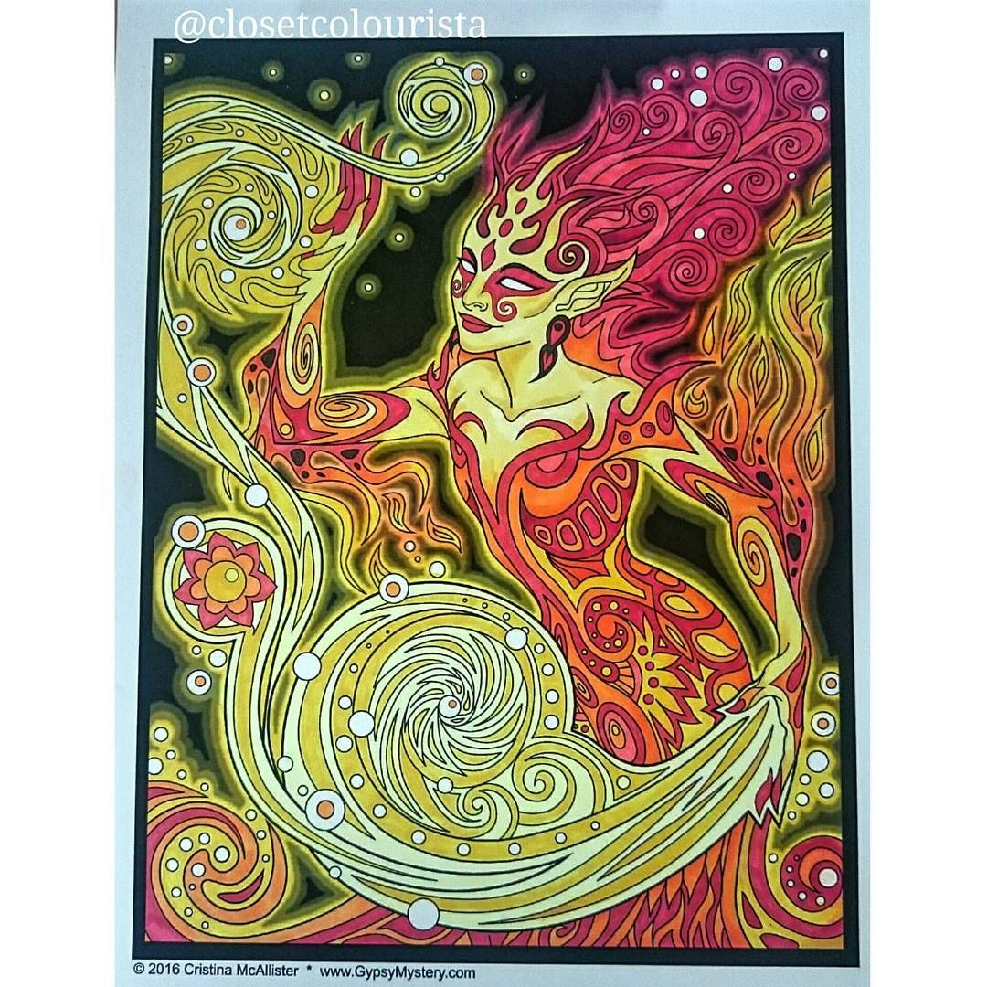 Just finished this one by Cristina McAllister - the Lumina Chronicles. I call her Fire Sprite :) I've got Cristina's two books so I'll be doing some more of her Work :) #cristinamcallister #theluminachronicles #fire #magic  #colouring #colouringbook #colourtherapy #arttherapy #colouringisforadultstoo #adultcolouring #mycolouring #coloring_masterpieces #Copic #copicmarkers #instagood #instacolour #rcnocrop #coloringmasterpieces #beautifulcoloring #creativelycoloring #majesticcoloring