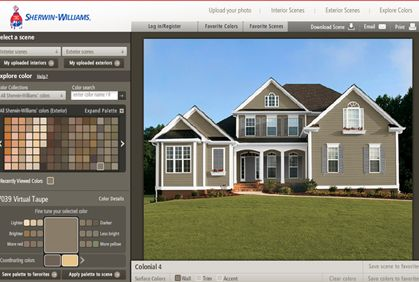 1846 1 exterior paint visualizer exterior paint colors on benjamin moore color visualizer id=13869