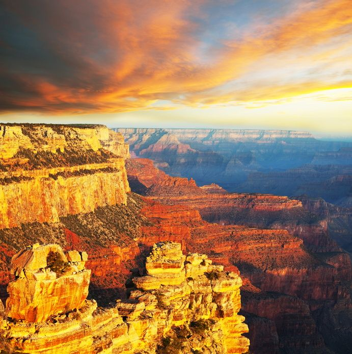 seeing the grand canyon
