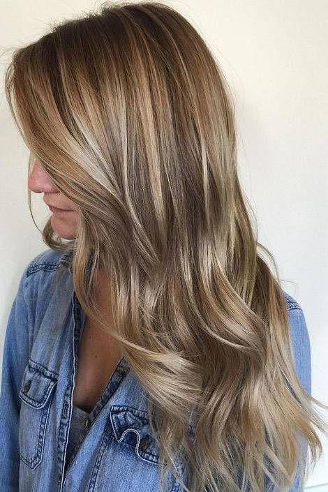 Light Brown Hair With Natural Honey Highlights Hair Styles Long Hair Styles Balayage Hair