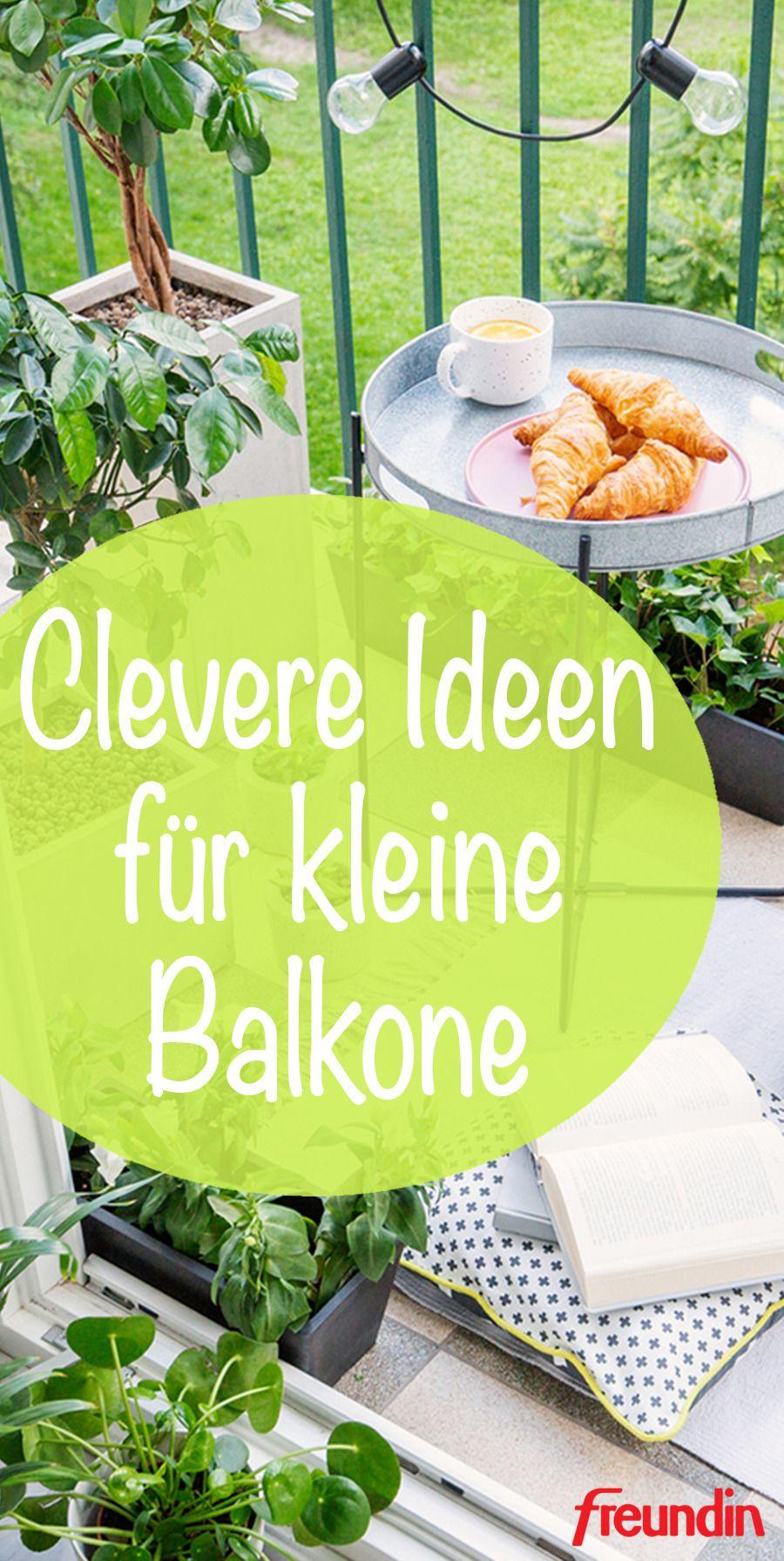Herausspaziert! Clevere Ideen für kleine Balkone | freundin.de