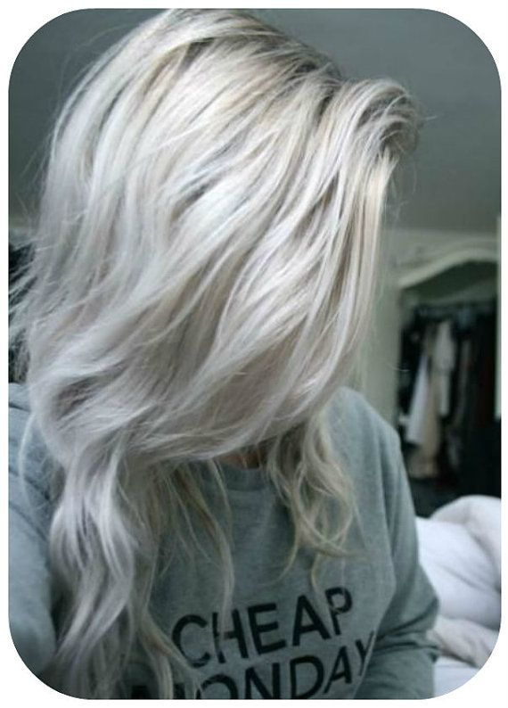 Ombre balayage grey human clip in hair extensions 120g 180g ombre balayage grey human clip in hair extensions 120g 180g 60 platinum blonde pmusecretfo Image collections