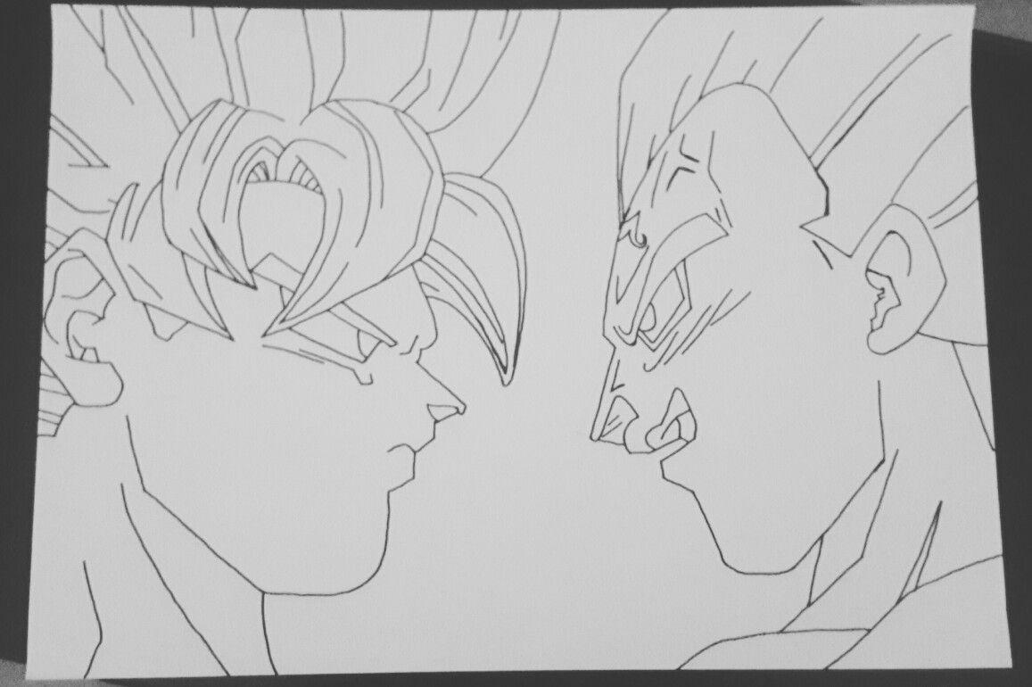 Fantastisch Ssj3 Goku Malvorlagen Fotos - Beispiel Business ...