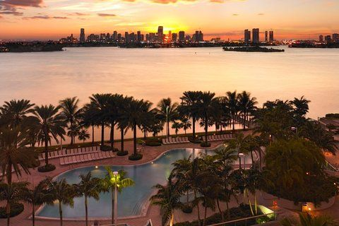 "Sunset in Miami. This unit is unique because we offer ""Luxury At It's Best"". In addition, we offer luxury & exotic features at a Premium level that you won't get anywhere within the downtown area."
