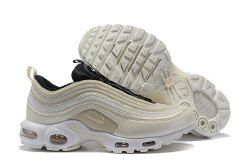 huge selection of 93cf9 4b3ae Nike Air Max 97 Plus TN Champagne Men s Women s Running Shoes
