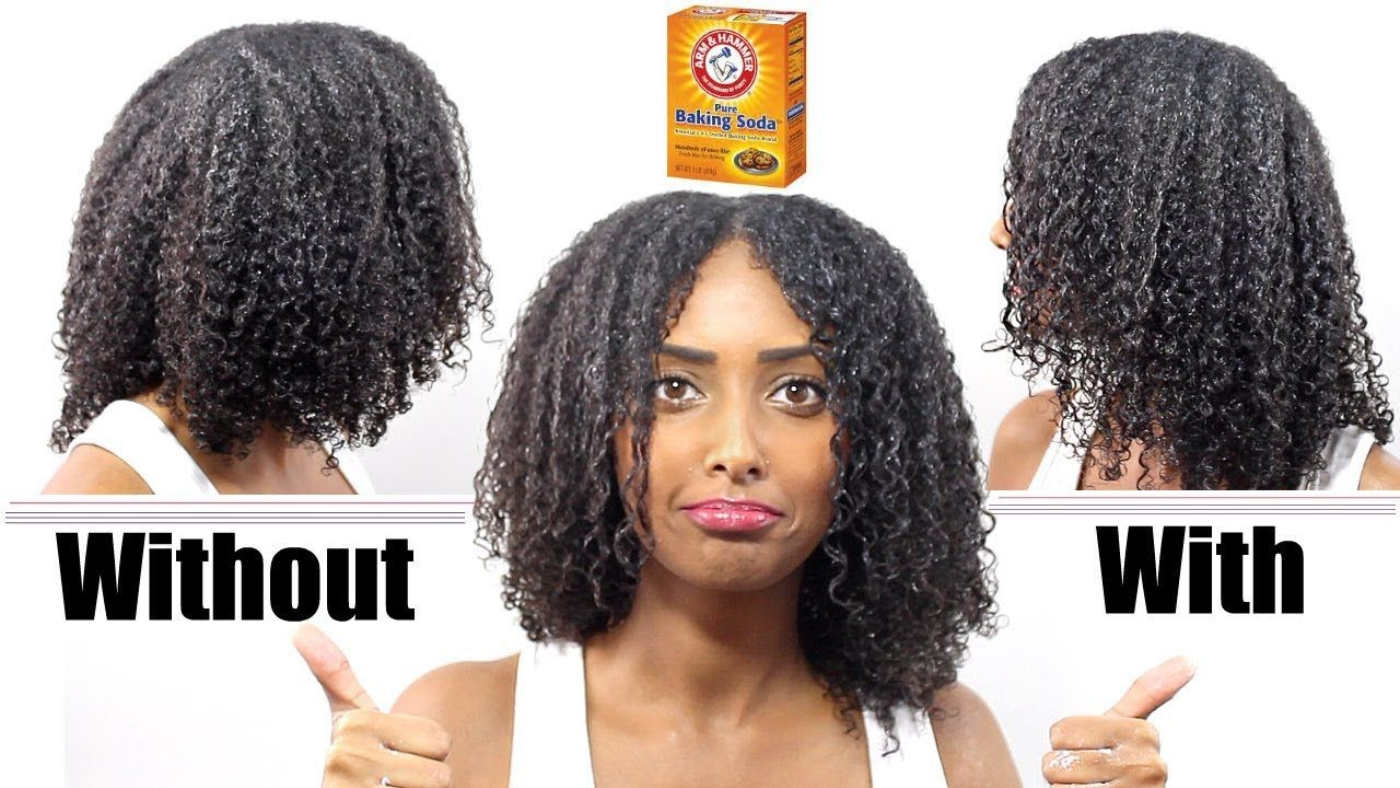 Deep conditioner with baking soda results for low porosity