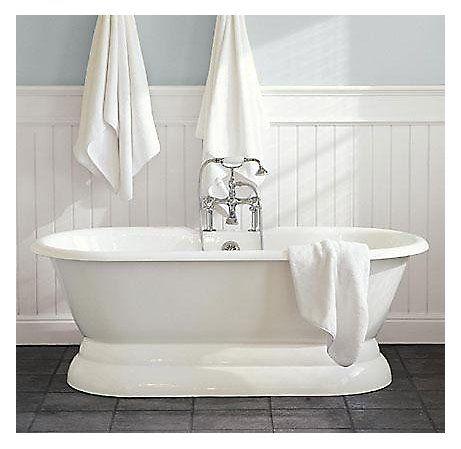 Rooms Restoration Hardware Pedestal Tub Traditional