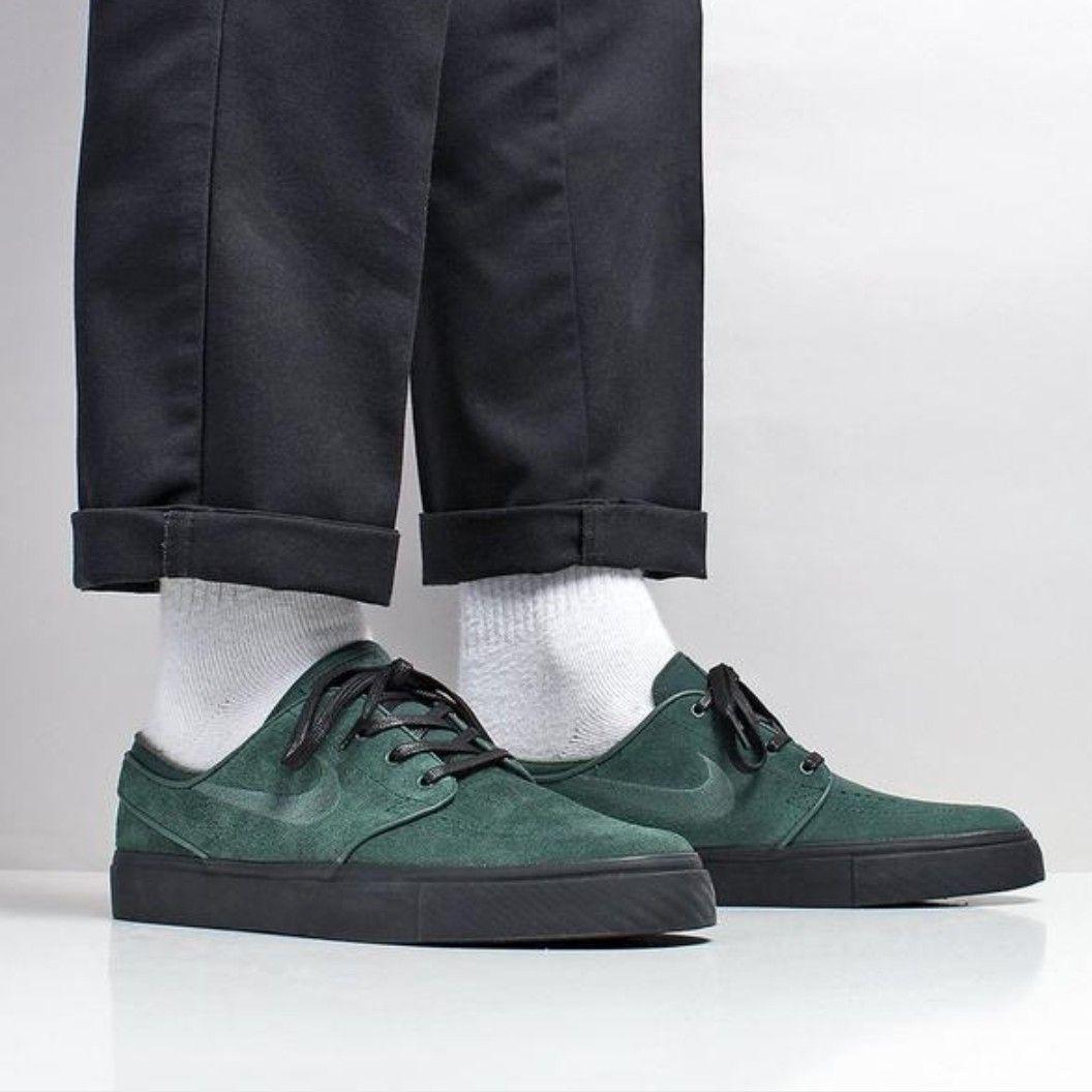 Nike SB Zoom Stefan Janoski in Midnight Green Black | nikesb