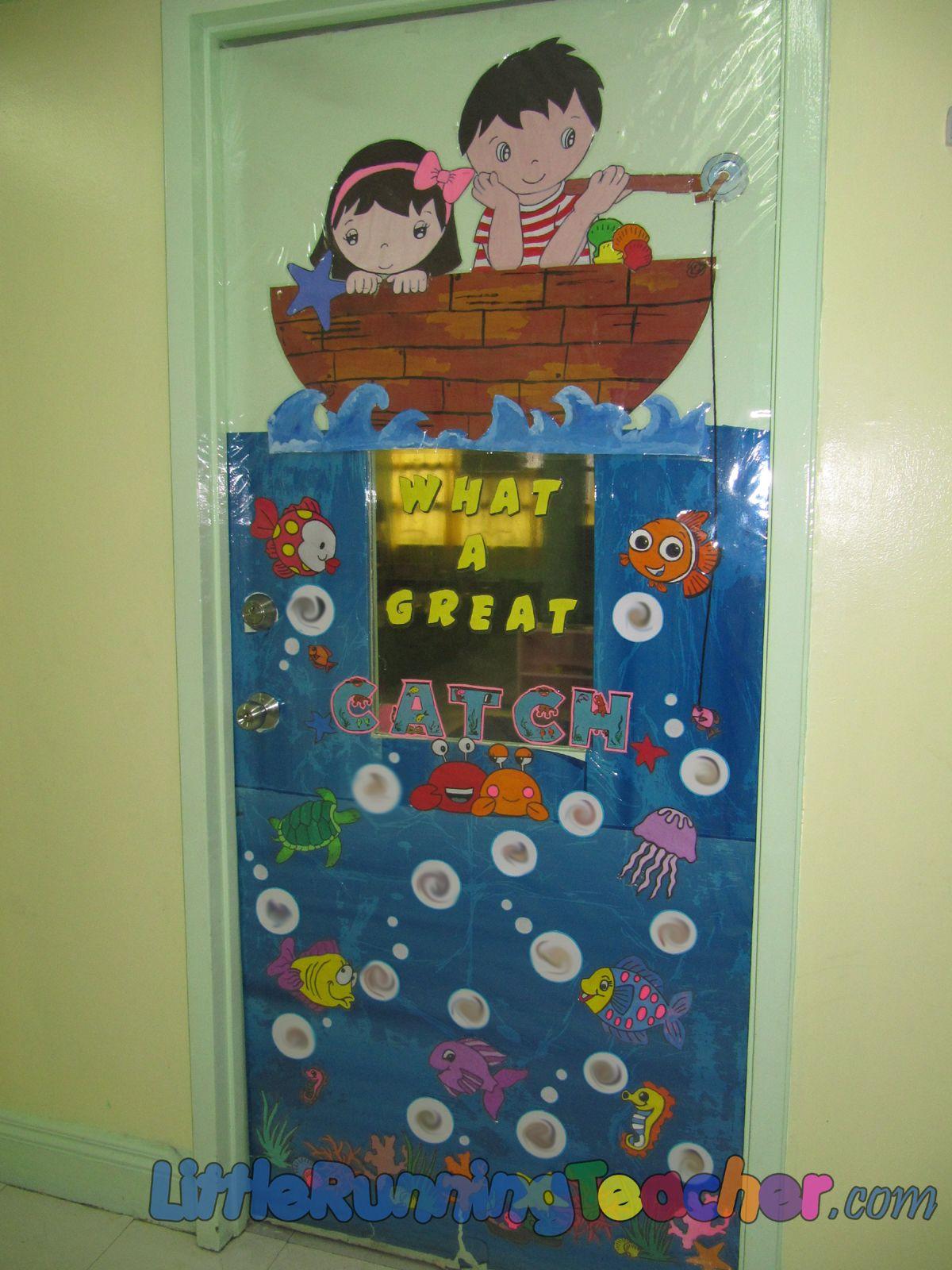 Door decorations for spanish class - Classroom Door Decorations Classroom Door Decor Little Running Teacher
