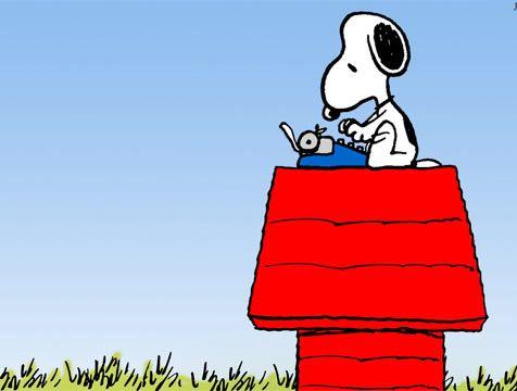 Agenda Cultural Del 3 De Diciembre 2014 Animales Animados Maquina De Escribir Imagenes De Snoopy