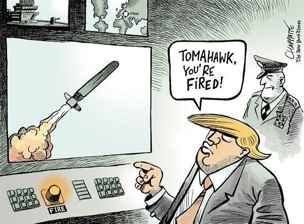 As North Korea Tensions Mount Cartoonists Skewer The U S