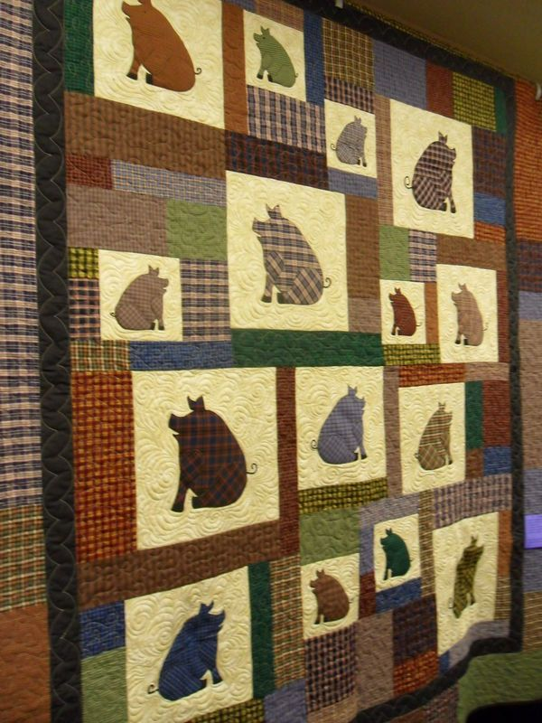 love this piggy quilt