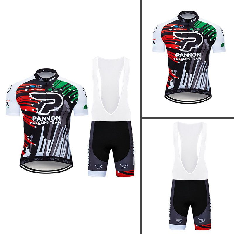 2019 Style Full Zipper Men Cycling Jersey and Bib Shorts Race Fits Pad Set  Shirt  Rainsports 55dcc113e