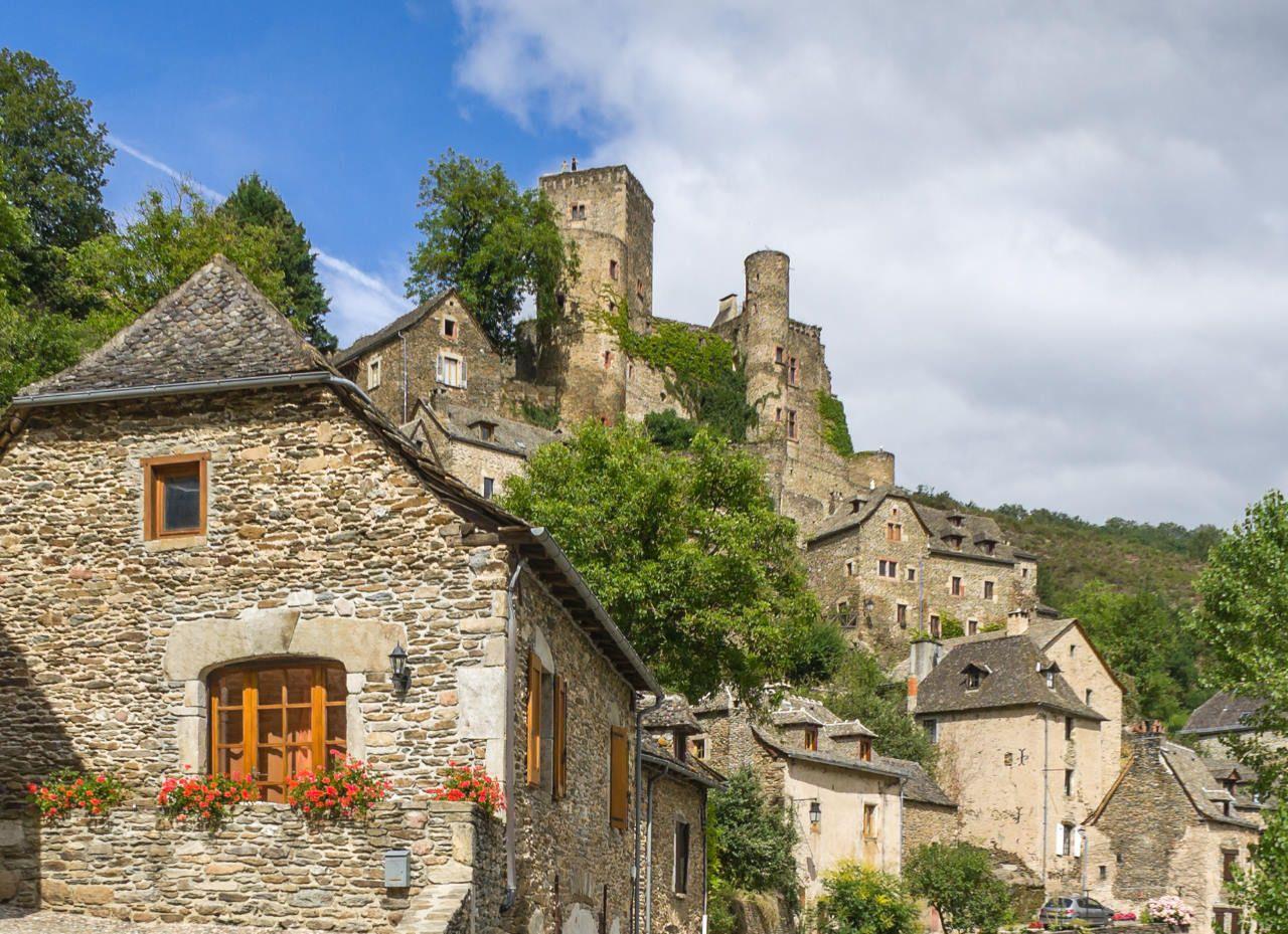 Belcastel Rignac Rodez Aveyron Midi Pyrenees France