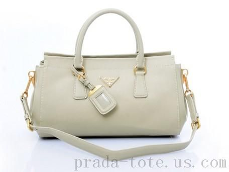 2b4ee4a6233f Discount  Prada BN1849 Handbags in Light Gray Outlet store