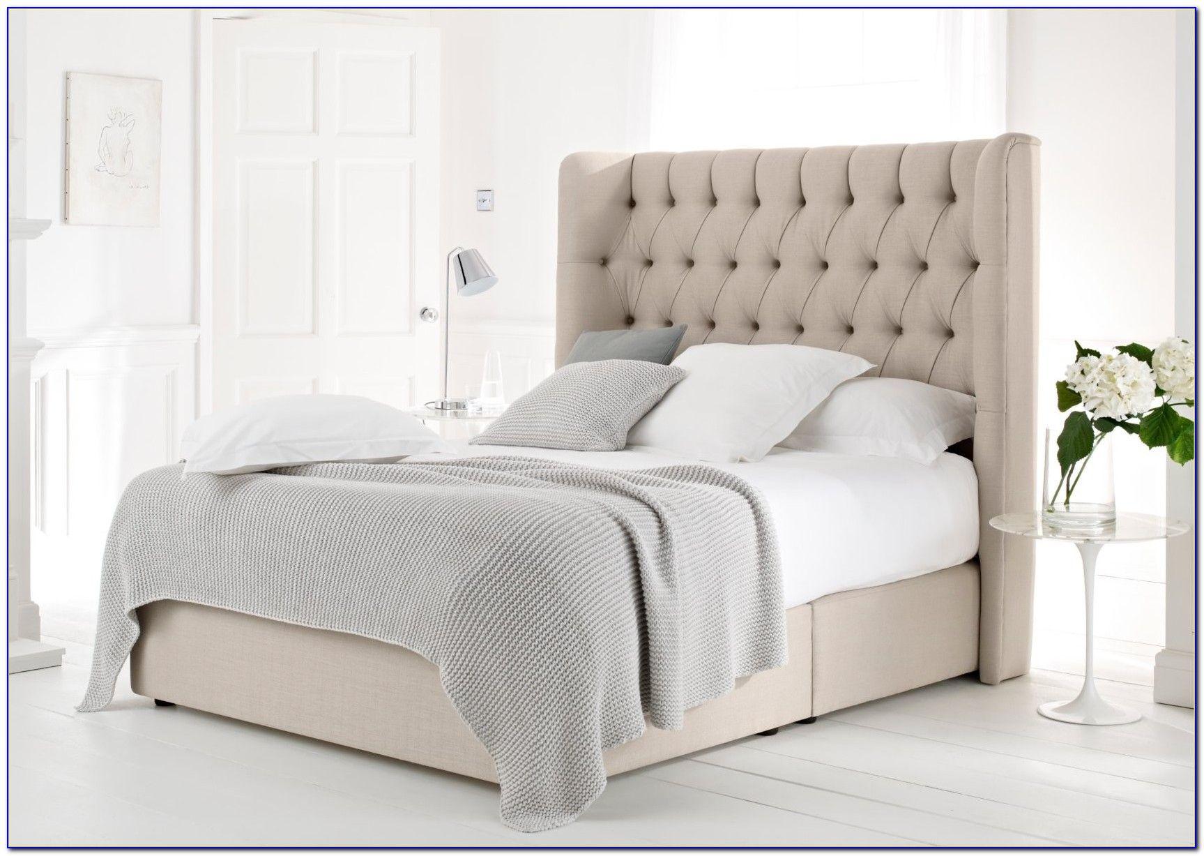 Queen Size Bett Rahmen Mit Kopfteil Weiß Plattform Bett Rahmen King Size  Plattform Bett Podest, Bettgestell #Schlafzimmer