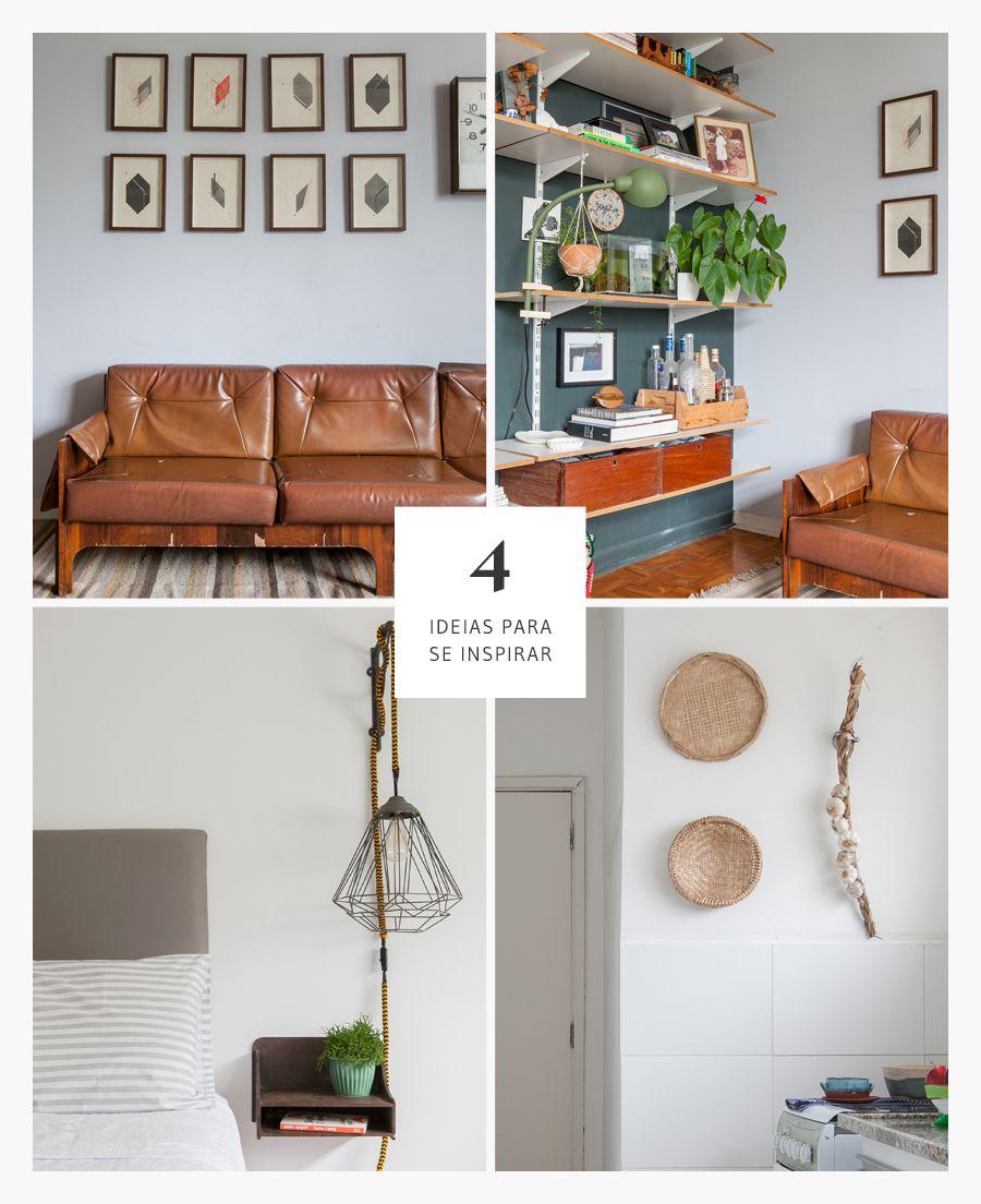 A beleza do simples | 4 boas ideias de decoração | Histórias de Casa