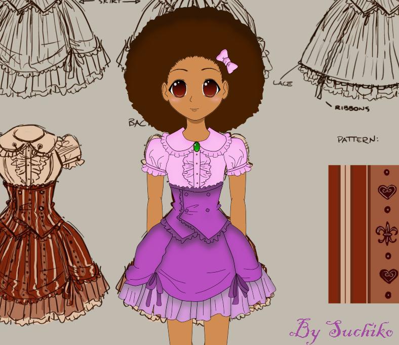 Female Anime Characters 90s : African american female cartoon characters black anime