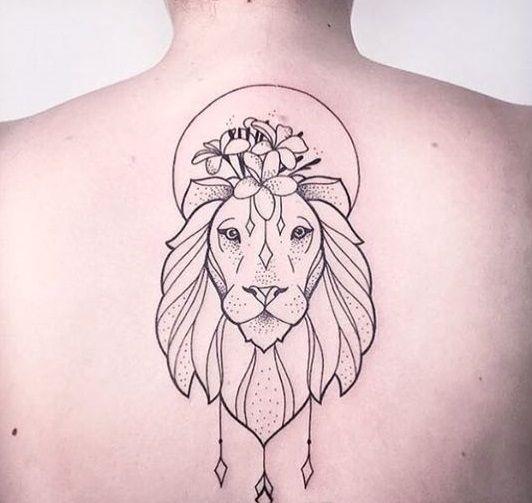 Pin by rafaela silva on tattoo pinterest tattoo tatoo - Tattoo tete de lion ...