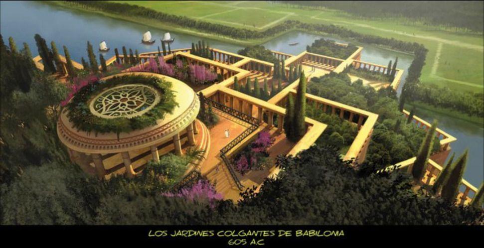 Los jardines colgantes de babilonia for Los jardines colgantes de babilonia