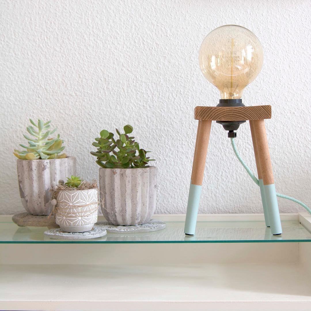 DIY Idee: Coole Retrolampe ganz leicht leicht selber bauen. Weitere ...