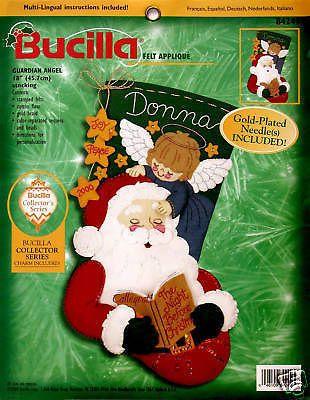 Bucilla Crewel Christmas Stocking Kits