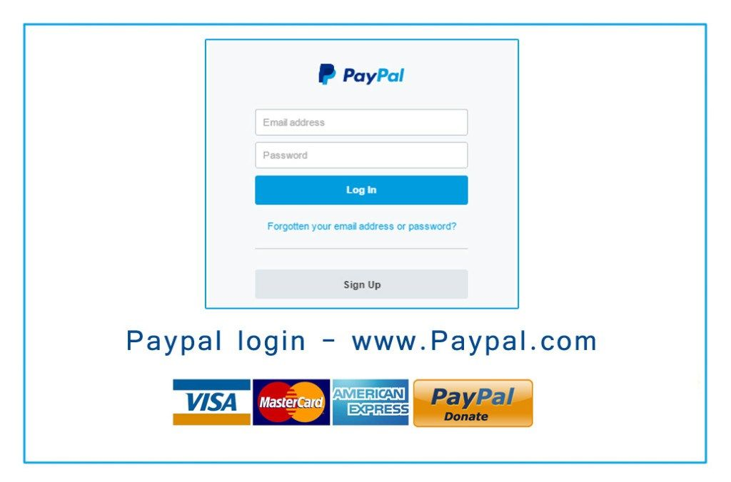 Paypal Login With Images Rewards Credit Cards