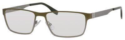 195.00$  Buy now - http://vigsg.justgood.pw/vig/item.php?t=0q507r43180 - Boss (hub) Metal Rectangular Sunglasses 55 0UAW Khaki Ruthenium (99 transparent 195.00$