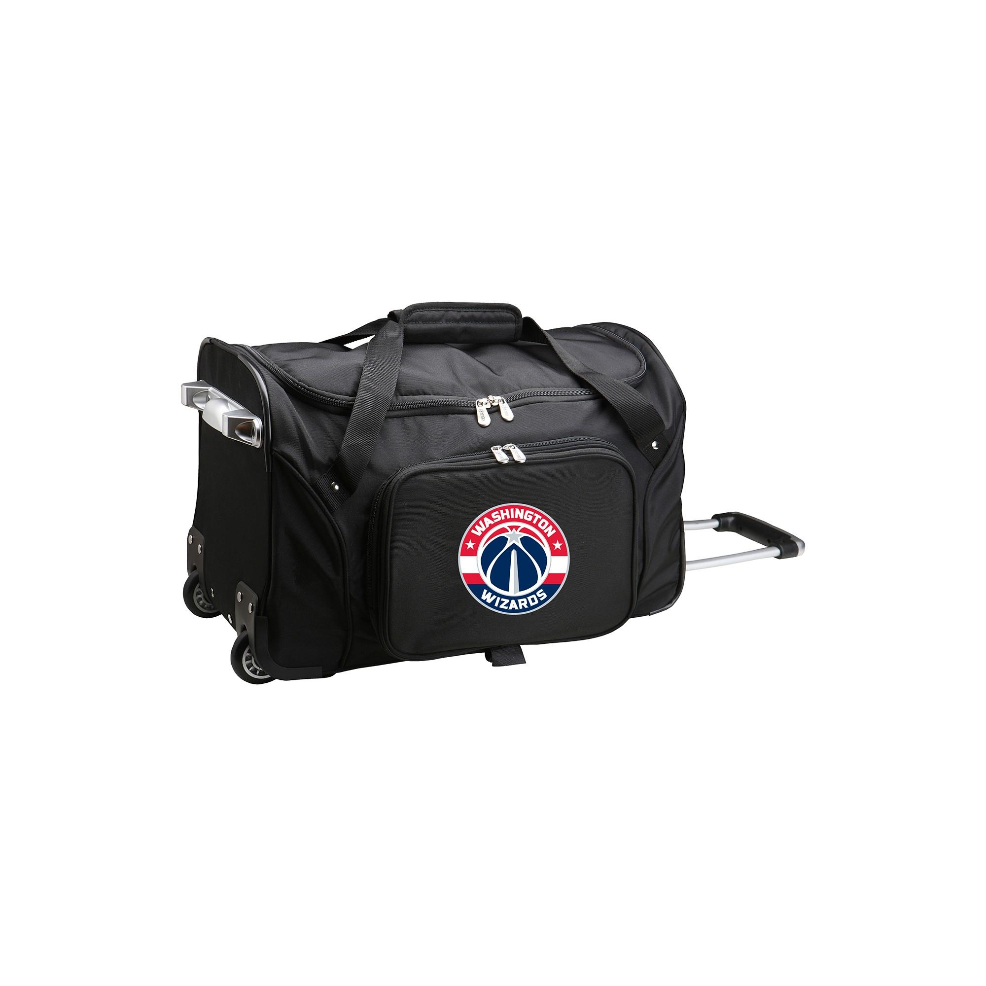 546a2c03a2 NBA Washington Wizards Mojo 22 Rolling Duffle Bag