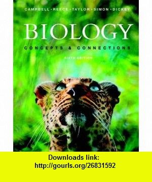 Biology concepts connections with masteringbiology 6th edition biology concepts connections with masteringbiology 6th edition 9780321742315 neil a campbell jane b reece martha r taylor eric j simon fandeluxe Images