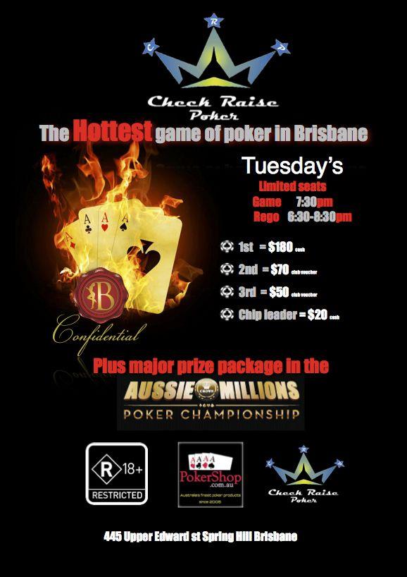 Poker tonight brisbane legal gambling age in india