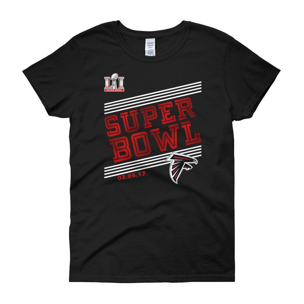 NEW 2017 WOMEN S Atlanta Falcons Super Bowl LI Bound Born to Rule T-Shirt  by Fufanz on Etsy 1f3a57843
