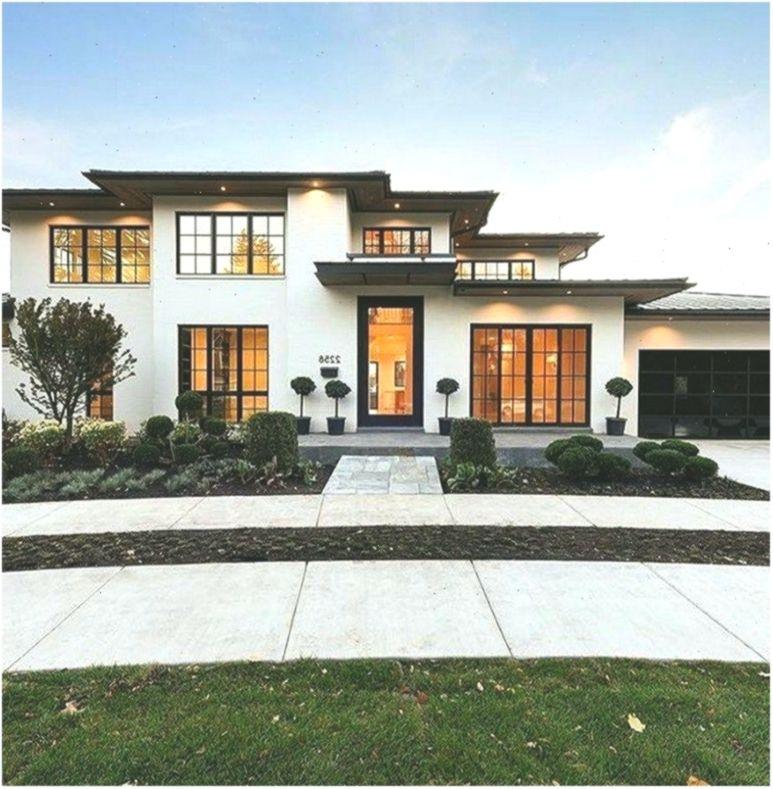 Unique Home Exterior Design: 42 Beautiful Modern House Ideas To Make Classy And Unique