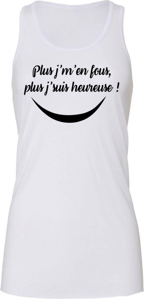 Épinglé sur Tee-shirt Débardeur Femme personnalisé