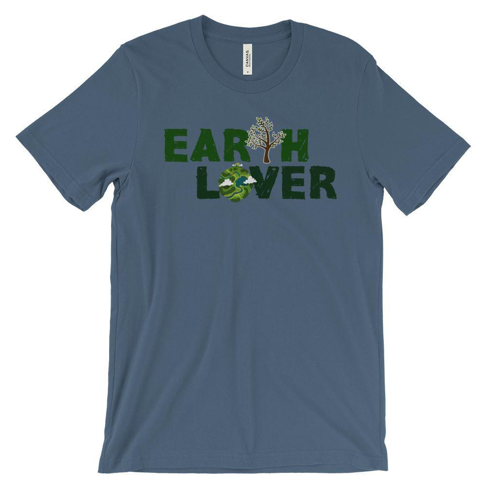 GREEN EARTH LOVER SHORT SLEEVE T-SHIRT