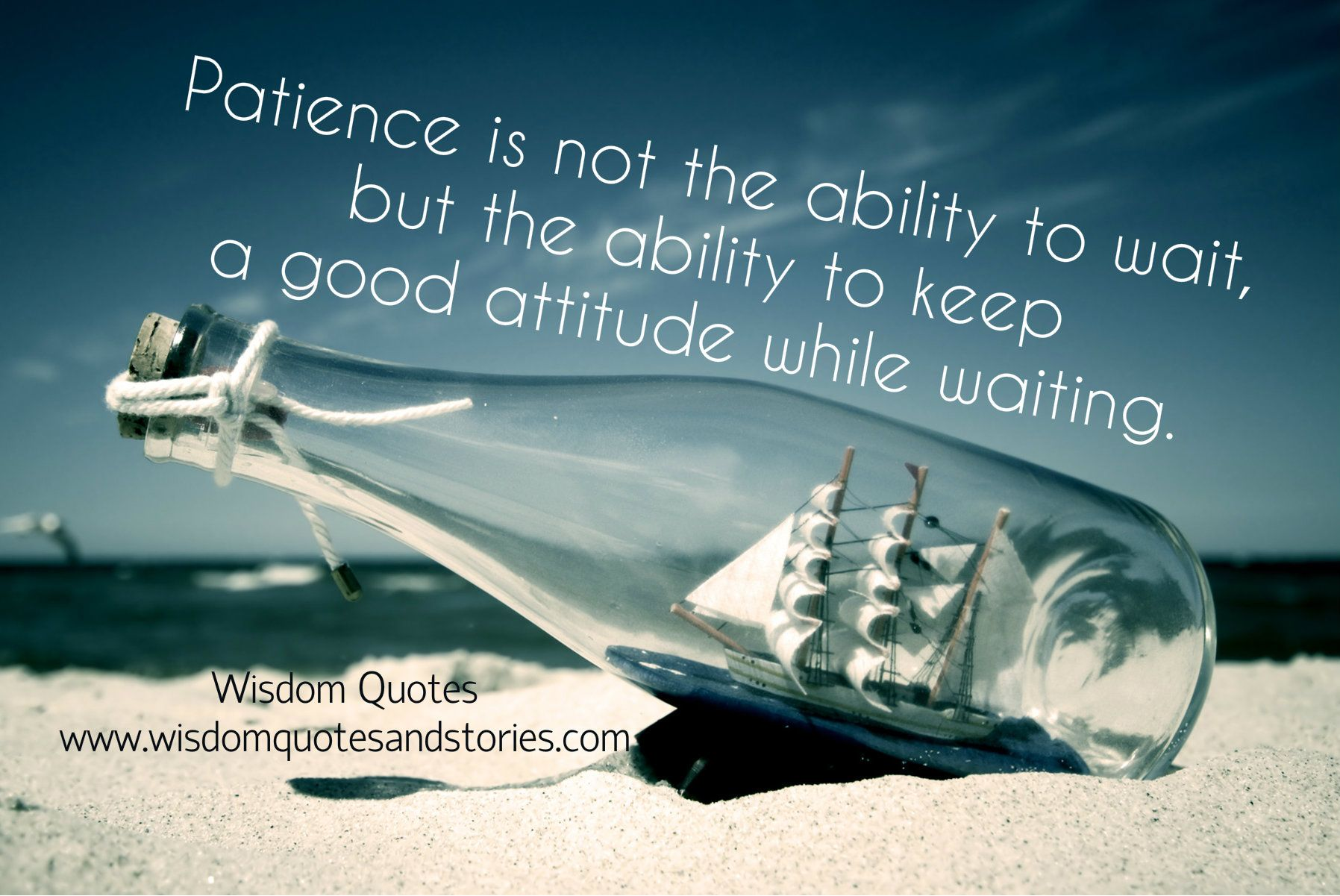 Keep Good Attitude While Waiting | Wisdom Quotes U0026 Stories · Desktop  WallpapersLatest Hd ...