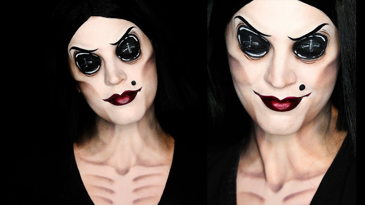 Coraline other mother makeup tutorial 31 days of halloween coraline other mother makeup tutorial 31 days of halloween baditri Gallery