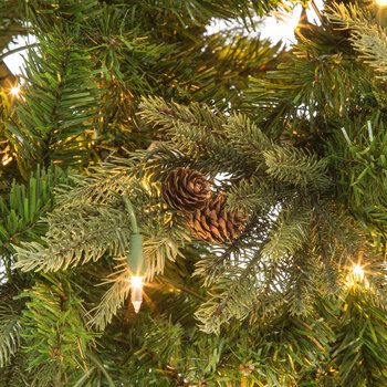 Slim Arizona Fir Pre-Lit Christmas Tree - 7 1/2\u0027 in 2018 Christmas