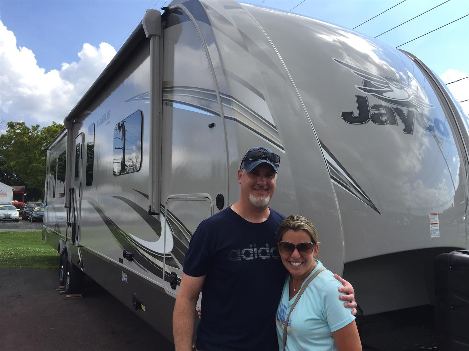 Congratulations And Best Wishes Chris And Tracey On The Purchase