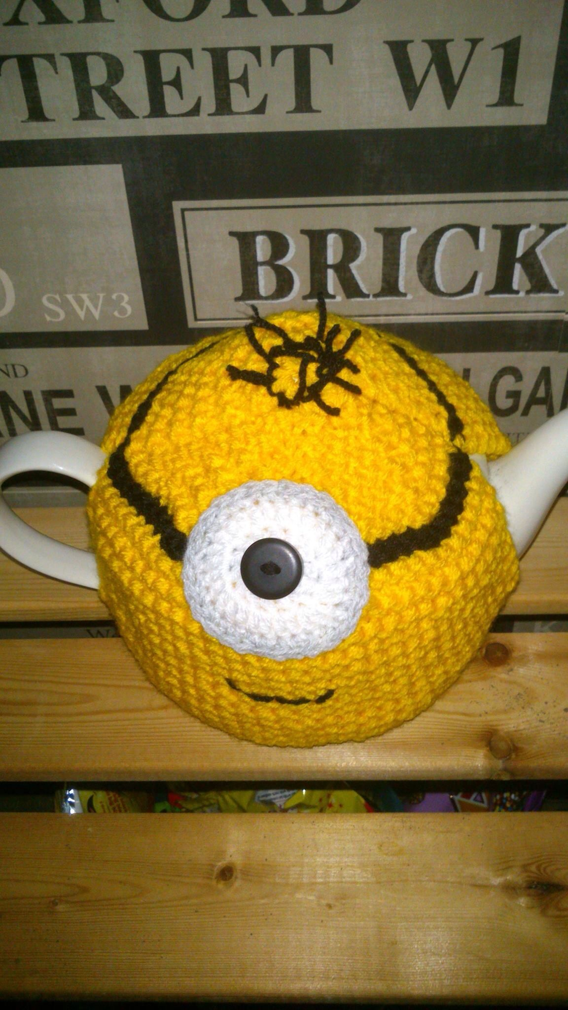 Minion Inspired Tea Cosy