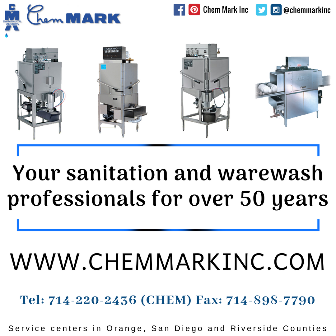 Chem Mark Inc Uses Only The Best Dishwashers And Water Softeners Providing You True Full Service Company In Industry