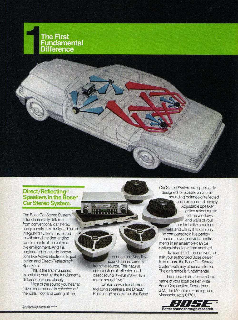 c501fbb3c38 The First Fundamental Difference With Bose Car Audio Source: Games,  November-December 1981