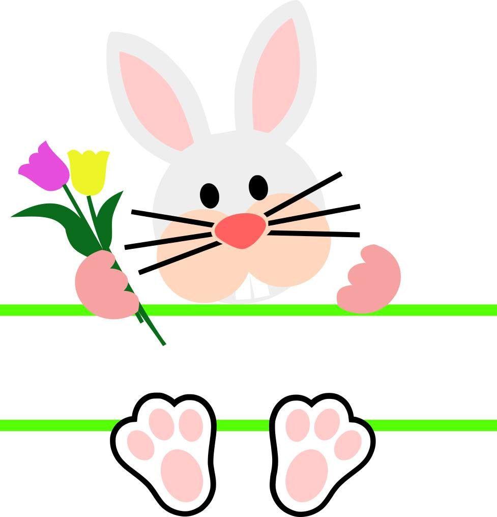 Download Download Free Split Easter Bunny Svg Images Free SVG files ...